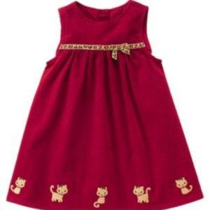 Gymboree Glamour Kitty Sleeveless Dress